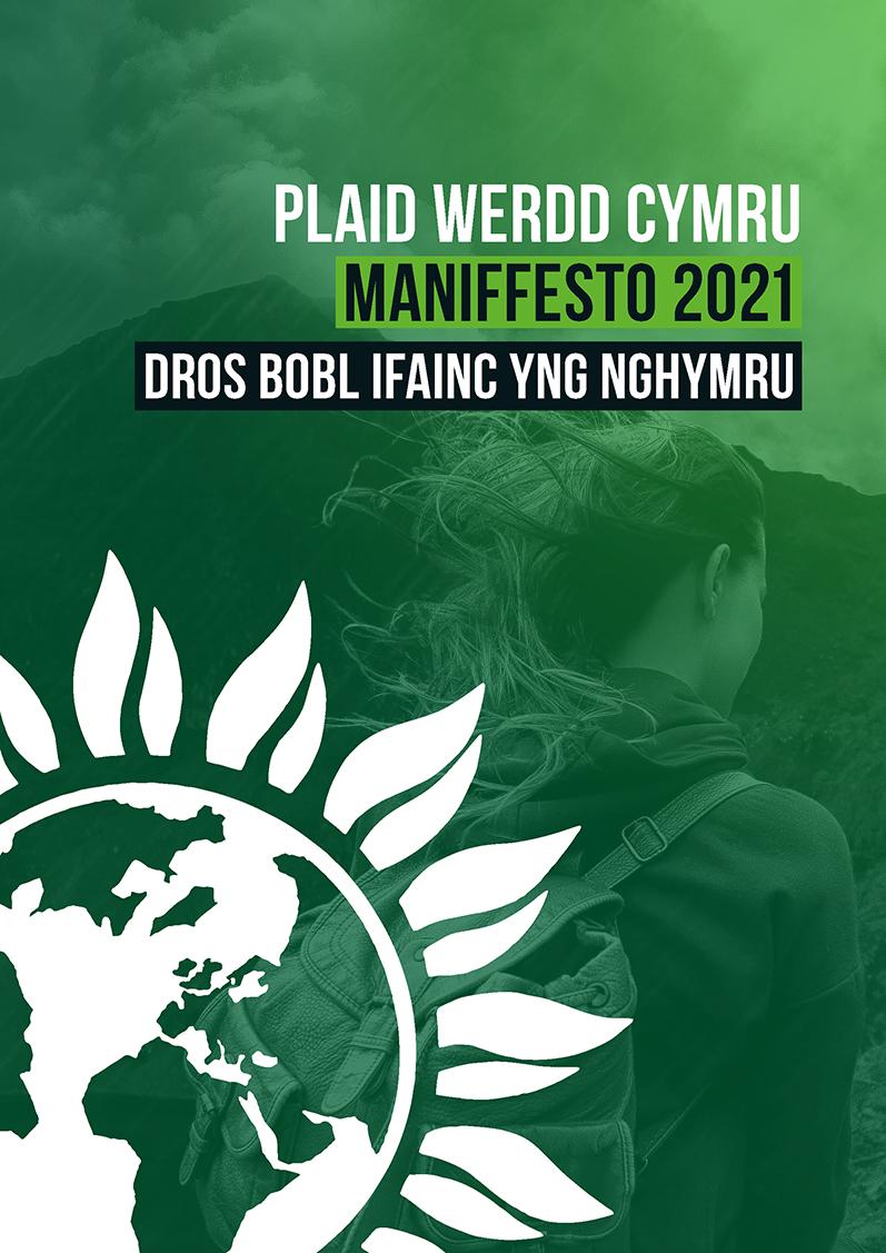 Cover Young People manifesto Cymraeg